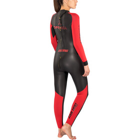 Colting Wetsuits Open Sea Pianka pływacka Kobiety, black/red
